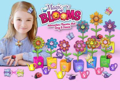 Magic Blooms en Magic Bugs kleuren je dag!